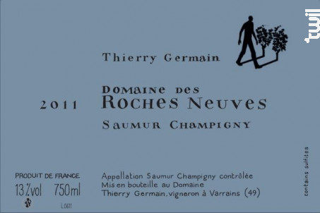 Domaine des roches neuves - THIERRY GERMAIN - DOMAINE DES ROCHES NEUVES - 2012 - Rouge