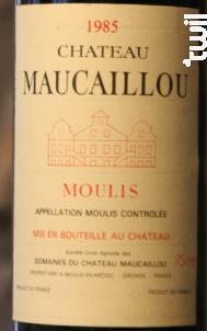 Château Maucaillou - Château Maucaillou - 1989 - Rouge