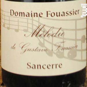 Mélodie de Gustave Fouassier - Domaine Fouassier - 2016 - Blanc