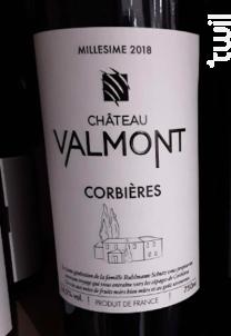 Corbières - Château Valmont - 2018 - Rouge