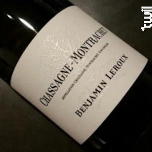 Chassagne-Montrachet - Benjamin Leroux - 2011 - Blanc