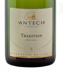 Cuvée Tradition 1/2 sec - MAISON ANTECH LIMOUX - Non millésimé - Effervescent