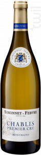 Chablis 1er Cru Montmains - Simonnet Febvre - 2016 - Blanc