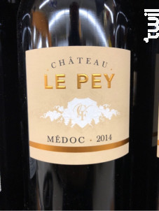 Château Le Pey - Château Le Pey - 2014 - Rouge