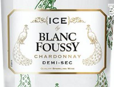 Blanc Foussy ICE - Blanc Foussy - Grandes Caves Saint Roch - Non millésimé - Blanc