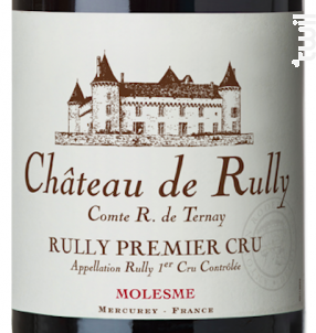 Rully Château de Rully Premier Cru Molesme - Antonin Rodet - 2013 - Rouge