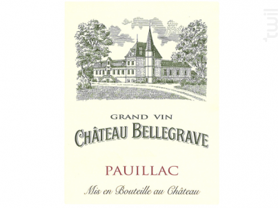 Château Bellegrave - Pauillac - Vignobles Jean-Marie Bouldy- Château Bellegrave - 2017 - Rouge