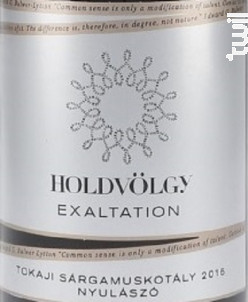 EXALTATION - MUSCAT - HOLDVÖLGY - 2015 - Blanc