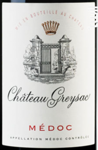 Château Greysac - Domaines Rollan de By - 2011 - Rouge