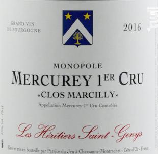Mercurey 1er cru