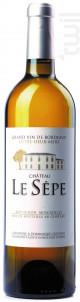 Château le Sèpe - Château le Sèpe - 2018 - Blanc