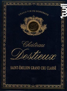 Château Destieux - Vignoble Dauriac - Château Destieux - 2016 - Rouge