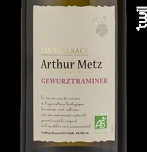 Arthur Metz Bio Gewurztraminer - Arthur METZ - 2013 - Blanc