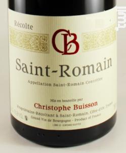 Saint-Romain - Domaine Christophe Buisson - 2011 - Rouge