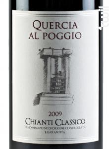 CHIANTI CLASSICO - QUERCIA AL POGGIO - 2013 - Rouge