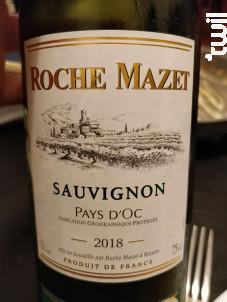 Sauvignon - Roche Mazet - 2018 - Blanc