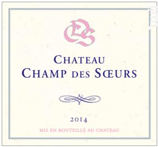 Château Champ des Soeurs - Muscat de Rivesaltes - Château Champ des Soeurs - 2018 - Blanc