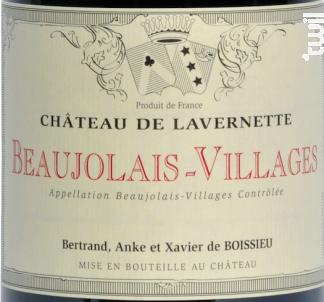 Beaujolais Village - Château de Lavernette - 2019 - Rouge