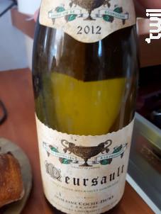 Pinot noir - Domaine Coche Dury - 2012 - Rouge