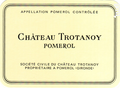 Château Trotanoy - Château Trotanoy - 2014 - Rouge