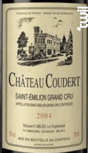CHÂTEAU COUDERT - Vignobles Carles - Château Croix-des-Rouzes - 2005 - Rouge