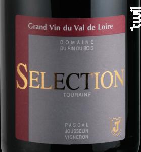 Sélection - Domaine du Rin du Bois - 2011 - Rouge
