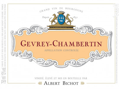 Gevrey-Chambertin - Albert Bichot - 2015 - Rouge