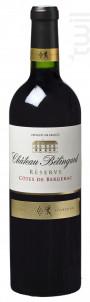 Château Bélingard Réserve - Château Belingard - 2015 - Rouge