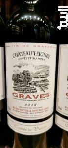 CHATEAU TEIGNEY - Cuvée St Blancat - Château Teigney - 2018 - Rouge