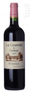 La Gravette de Certan - Vieux Château Certan - 2000 - Rouge