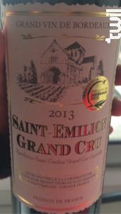 Saint-Emilion Grand Cru - Union de Producteurs de Saint-Emilion - 1992 - Rouge