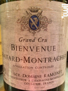 Bienvenue Bâtard Montrachet Grand Cru - Domaine Ramonet - 2018 - Blanc