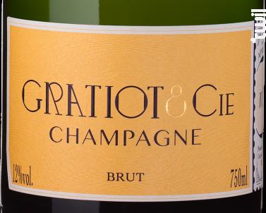 Almanach n°1 Brut - Champagne Gratiot & Cie - Non millésimé - Effervescent