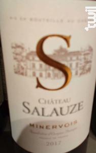 Château Salauze - Château Salauze - 2017 - Rouge