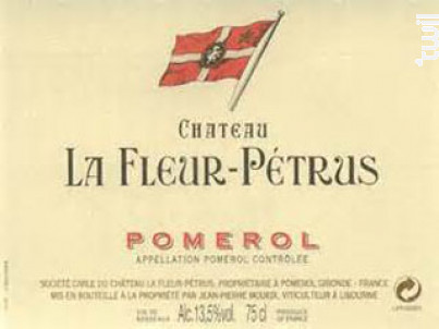 Château la Fleur-Pétrus - Château la Fleur-Pétrus - 2012 - Rouge