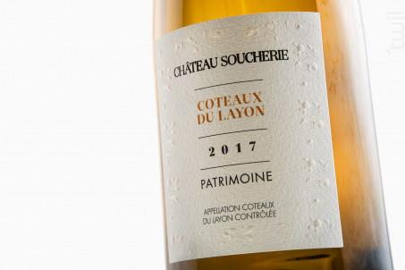 Patrimoine - Château Soucherie - 2018 - Blanc