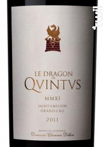 Le Dragon de Quintus - Château Quintus - 2011 - Rouge