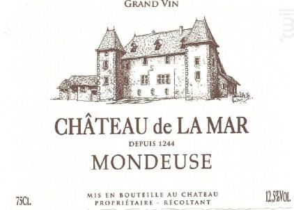Mondeuse - Chateau de la Mar - 2017 - Rouge