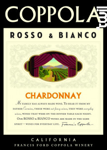 BIANCO - CHARDONNAY - Francis Ford Coppola Winery - 2017 - Blanc