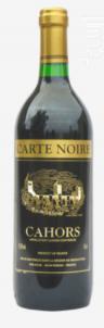 Carte Noire Cahors - Vinovalie Les Vignerons d'Ovalie - 2018 - Rouge