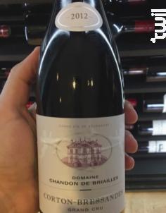 Corton-Bressandes Grand Cru - Domaine Chandon de Briailles - 2005 - Rouge