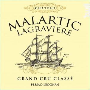 Château Malartic-Lagravière - Château Malartic-Lagravière - 2014 - Rouge