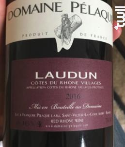 Laudun - Domaine Pélaquié - 2016 - Rouge