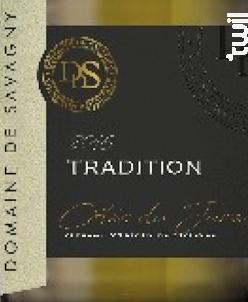 TRADITION - DOMAINE DE SAVAGNY - Non millésimé - Blanc