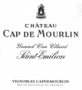 Château Cap de Mourlin - Château Cap de Mourlin - 2015 - Rouge