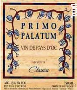 Pays d'Oc - Primo Palatum - 2002 - Rouge
