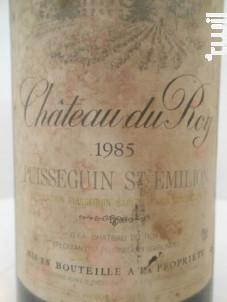 Château Du Roy - Château du Roy - 1982 - Rouge