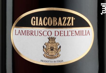 Giacobazzi Lambrusco rouge - Giacobazzi - Non millésimé - Rouge