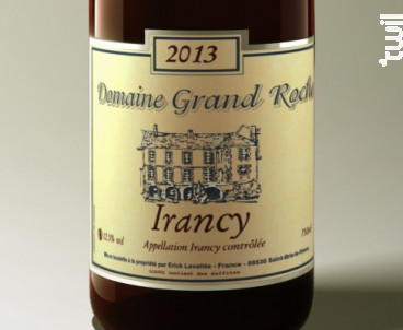 Irancy - Domaine Grand Roche - 2013 - Rouge