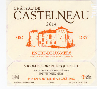 Château de Castelneau - Château de Castelneau - 2018 - Blanc